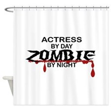 Actress Zombie Shower Curtain