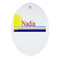 Nadia Oval Ornament