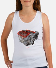 Corvette ZO6 LS7 Women's Tank Top