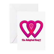 The Adopted Heart Greeting Cards (Pk of 10)