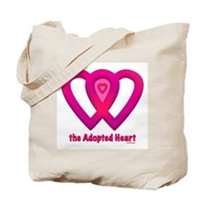 The Adopted Heart Tote Bag