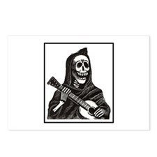 Calavera with Guitar Postcards (Package of 8)
