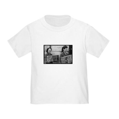 WWII Girls carrying rifles Toddler T-Shirt
