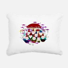 Gnomeses Rectangular Canvas Pillow
