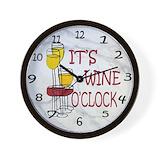 Wine Wall Clocks