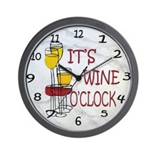 Its Wine OClock Wall Clock