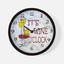 Its Wine OClock Wall Clock