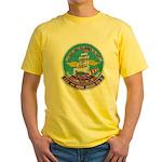 USS BON HOMME RICHARD Yellow T-Shirt
