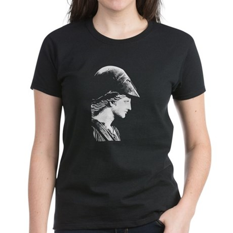 Athena Goddess of Wisdom Women's Dark T-Shirt