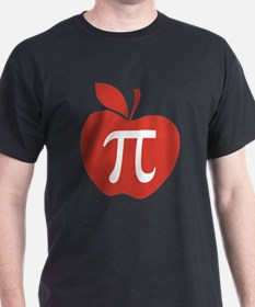 Red Apple Pi Math Humor T-Shirt
