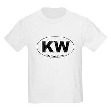 KW (Key West) Kids T-Shirt