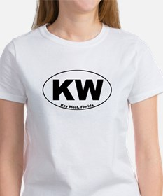 KW (Key West) Women's T-Shirt