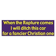 Ditch This Car Bumper Sticker