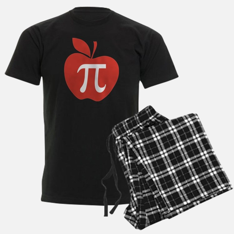 Red Apple Pi Math Humor Pajamas