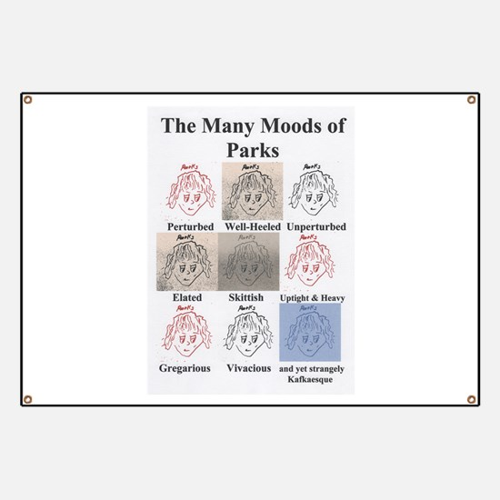 The Many Moods of Parks Banner
