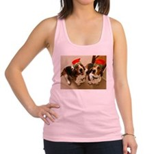 howliday_bassets.png Racerback Tank Top