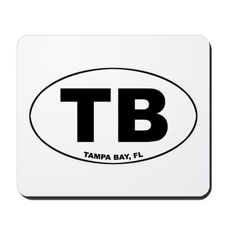 TB (Tampa Bay) Mousepad