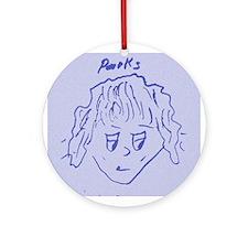 Parks blue Ornament (Round)