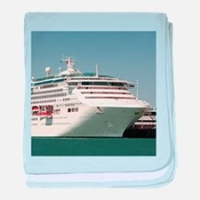 Dawn Princess Cruise Ship baby blanket