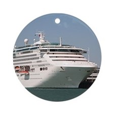 Dawn Princess Cruise Ship Ornament (Round)