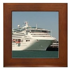 Dawn Princess Cruise Ship Framed Tile