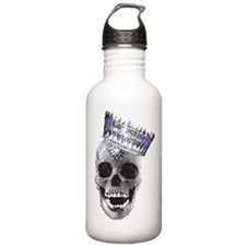 Skull with Crown Water Bottle