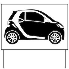 Smart Car Yard Sign
