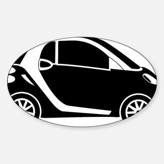 Smart Car Sticker (Oval)