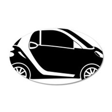 Smart Car Wall Decal
