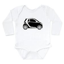 Smart Car Long Sleeve Infant Bodysuit