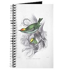 Gold Crest Bird Journal