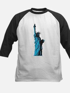 Statue of Liberty Kids Baseball Jersey