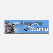 Dogs for Obama Car Magnet 10 x 3