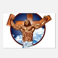 Strong Jesus Postcards (Package of 8)