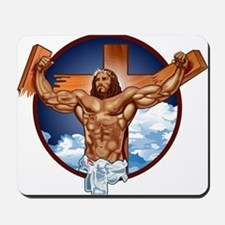 Strong Jesus Mousepad