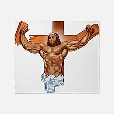 Super Christ Throw Blanket