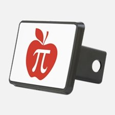 Red Apple Pi Math Humor Hitch Cover