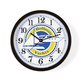 Attractive Bollman Yachts Office Wall Clock
