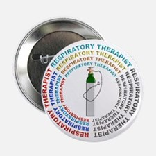 """Respiratory Therapy 2.25"""" Button"""