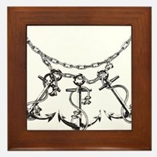 Anchors Framed Tile