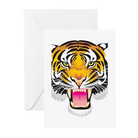 Tiger Greeting Cards (Pk of 20)