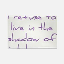 Shadow of Intolerance Rectangle Magnet