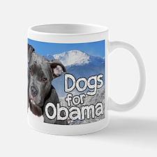 Dogs for Obama Mug
