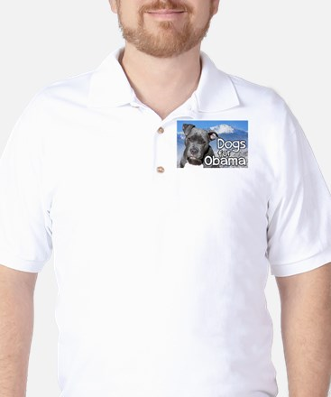 Dogs for Obama Golf Shirt