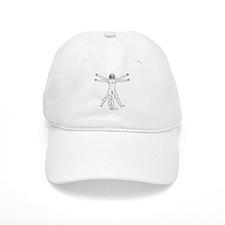 Vitruvian Man Baseball Cap
