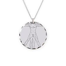 Vitruvian Man Necklace