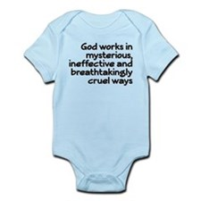 God Works In Mysterious Ways Infant Bodysuit