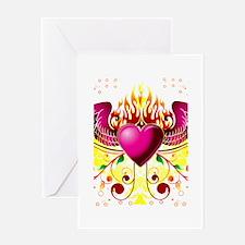 Heart Design Greeting Card