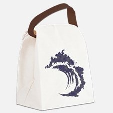 Wave Canvas Lunch Bag