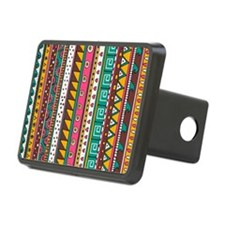 Colorful Tribal Pattern Hitch Cover